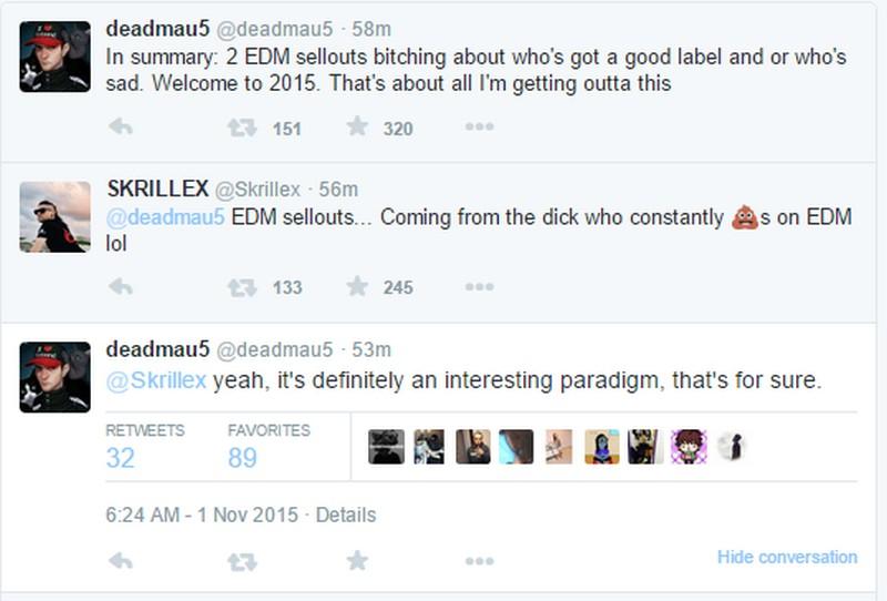 Skrillex Deadmau5 'Twars' keeps everybody entertained