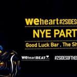 Weheartbeat & #2SIDESOFTHEBEAT NYE event