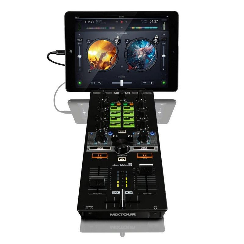 reloop mixtour plus an ipad tablet is all you need to dj. Black Bedroom Furniture Sets. Home Design Ideas