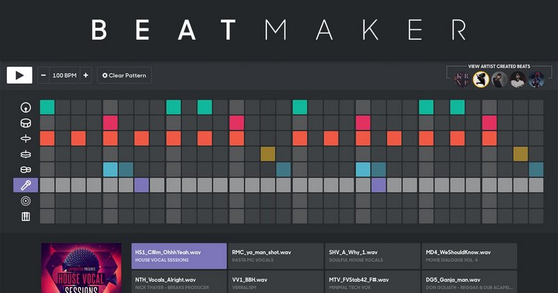 Splice beat maker by splice sounds for Create beats online free