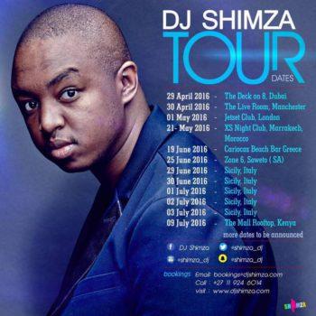 DJ Shimza World Tour