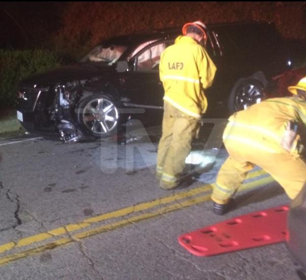 Calvin Harris car crash