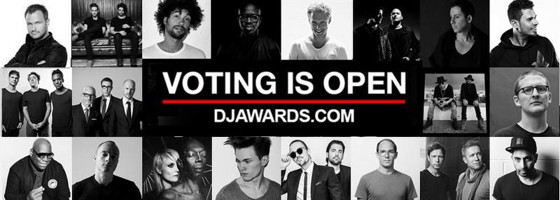 DJ Awards 2016 Categories & Nominees