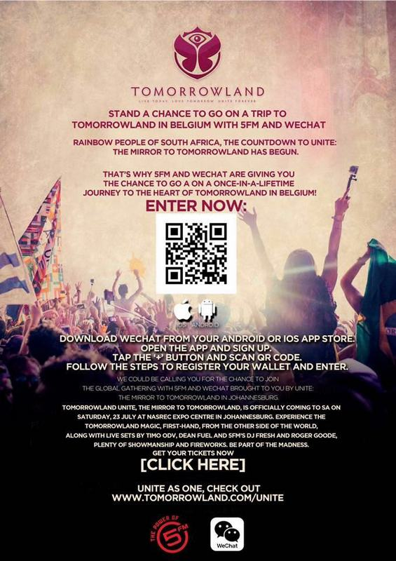 WIN a Trip to Tomorrowland Belgiumre