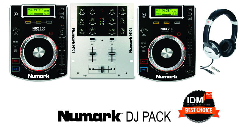 Numark CDJ DJ Pack