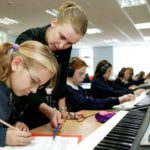 Electronic music for school music lessons