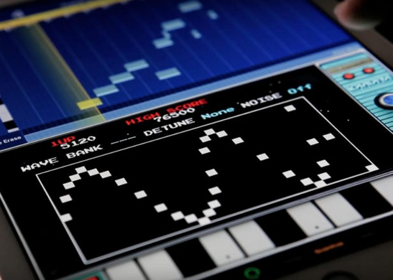 Korg 80s video game synth for iPhonere
