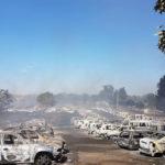 VIDEO: Andancas festival evacuated as 422 cars ablaze