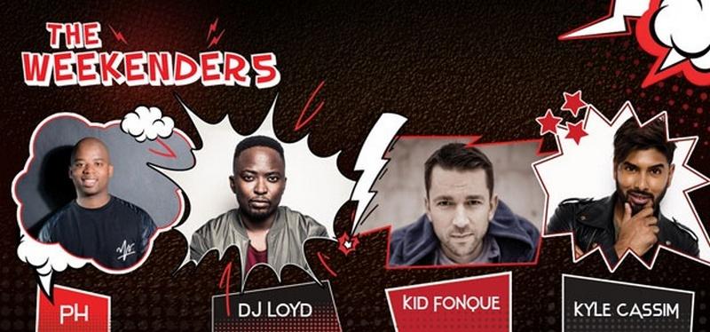 5FM Weekender DJs