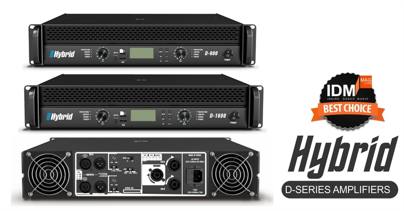 Hybrid D-Series Amplifiers