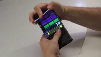 WhammyPhone the world's first virtual musical instrument for flexible phones