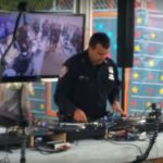 Watch this NYPD officer DJ including awesome scratching