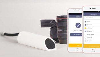 GearEye helps you keep track of your gear