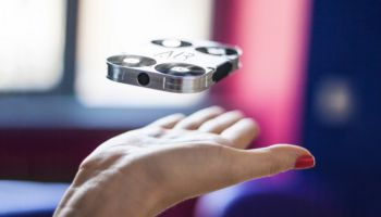 Airselfie Pocket sized drone camera to replace selfie stick?