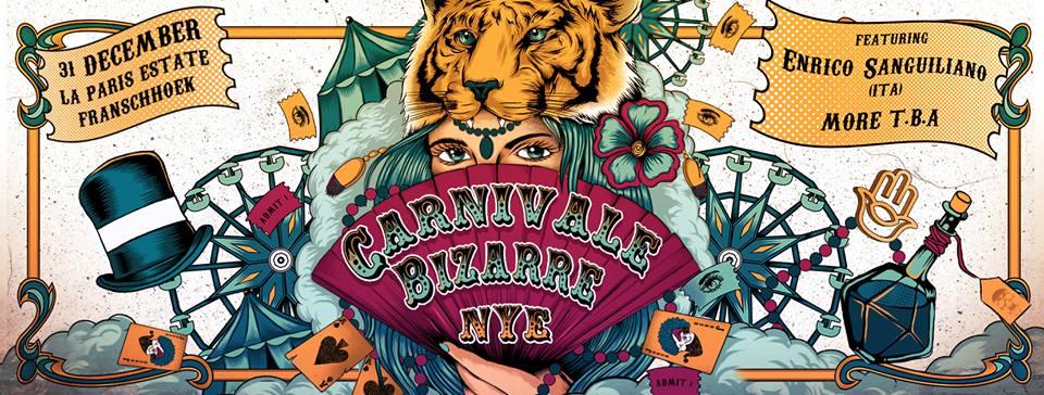 Kinky Summer Presents: Carnivale Bizarre NYE Competition
