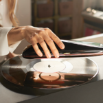 This LOVE turntable beams audio over Bluetooth