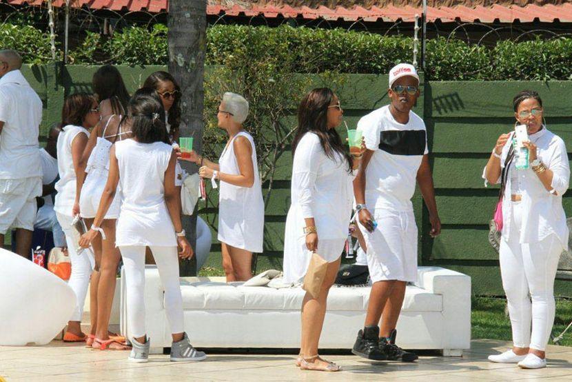 Da L.E.S exclusive all white party