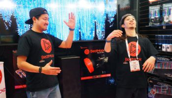 BeatMoovz will turn your dance moves into music
