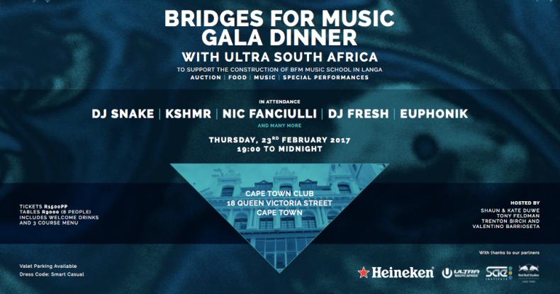 Bridges For Music Gala Dinner