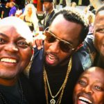 SA DJs Black Coffee, DJ Fresh & Euphonik party with P Diddy