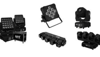 New Hybrid Lights – Stage Moving Heads, Spots & Stage Effects Available