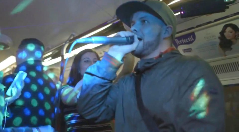 Tube Train Rave
