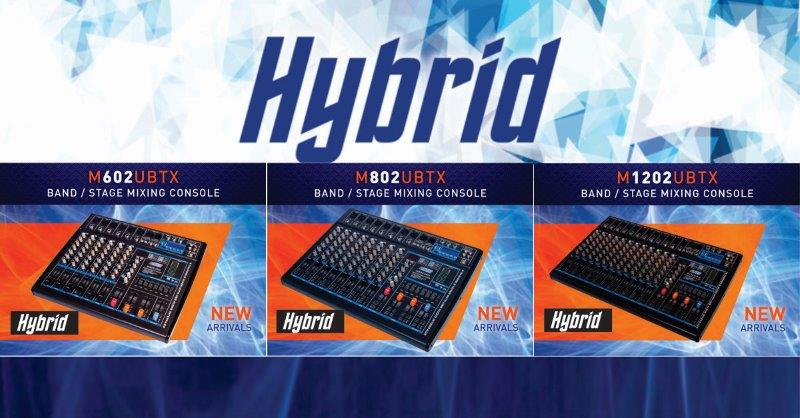 Hybrid Mixing Consoles