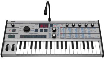 KORG announces the microKORG Platinum for 15th anniversary