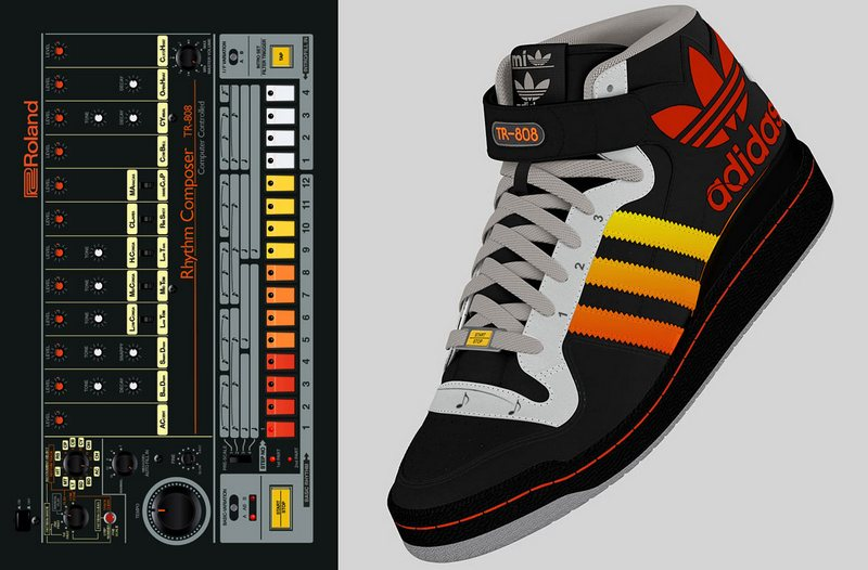 Adidas Roland TR 808 Shoes – make beats with your feet, look