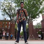 Harvard student Obasi Shaw graduates with top honours after submitting a rap album as his thesis