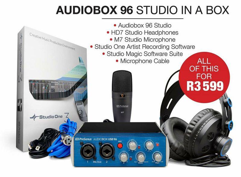 Audiobox 96