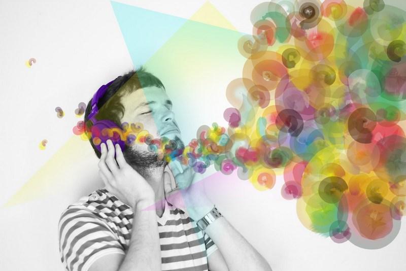 Synesthesia through Kaleidoscope