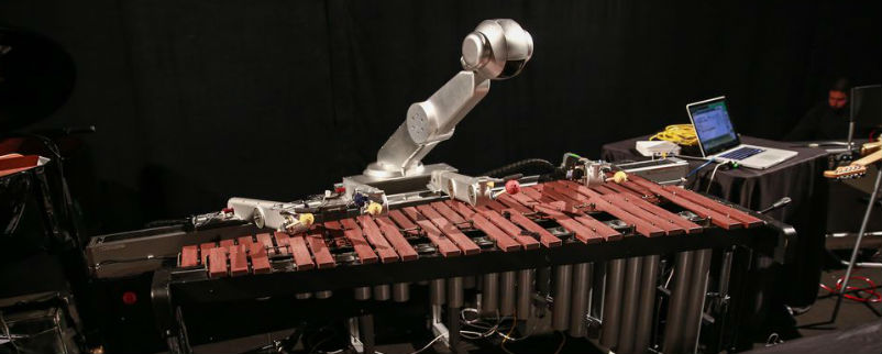 Robot composer Shimon jams beats
