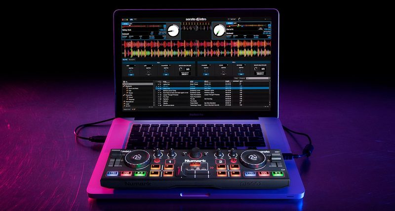 numark announces dj2go2 super portable controller. Black Bedroom Furniture Sets. Home Design Ideas