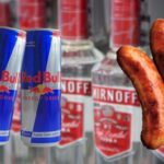 Someone has created vodka Red Bull sausages