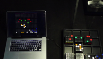Make music with the Rubik's Cube Sequencer