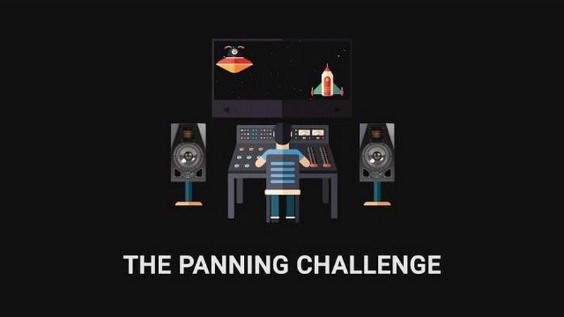 Soundgym panning challenge
