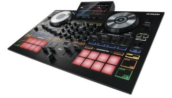 Reloop Touch Virtual DJ 8 controller with touchscreen
