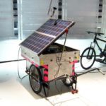 Solar Sound System powers speakers with bikes and solar panels
