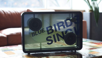 The Lyric Speaker displays lyrics for any song played