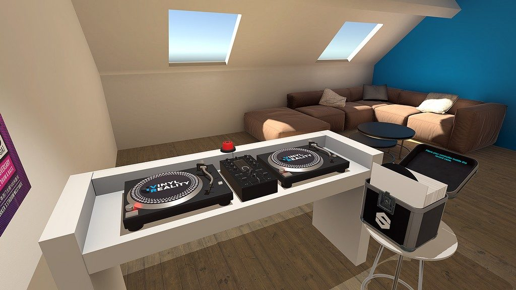 Vinyl Reality DJ app