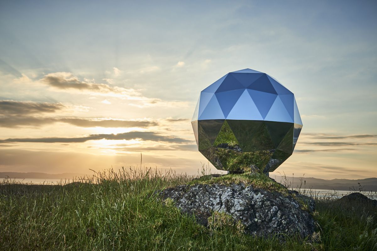 Humanity Star, the giant Disco Ball goes to space