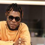 Nigerian reggae artist Burna Boy in the studio with Skrillex