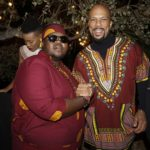 Common celebrates African Culture with Heavy K at LA house party
