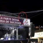 Festival goer electrocuted climbing stage at Festa de Uva in Brazil