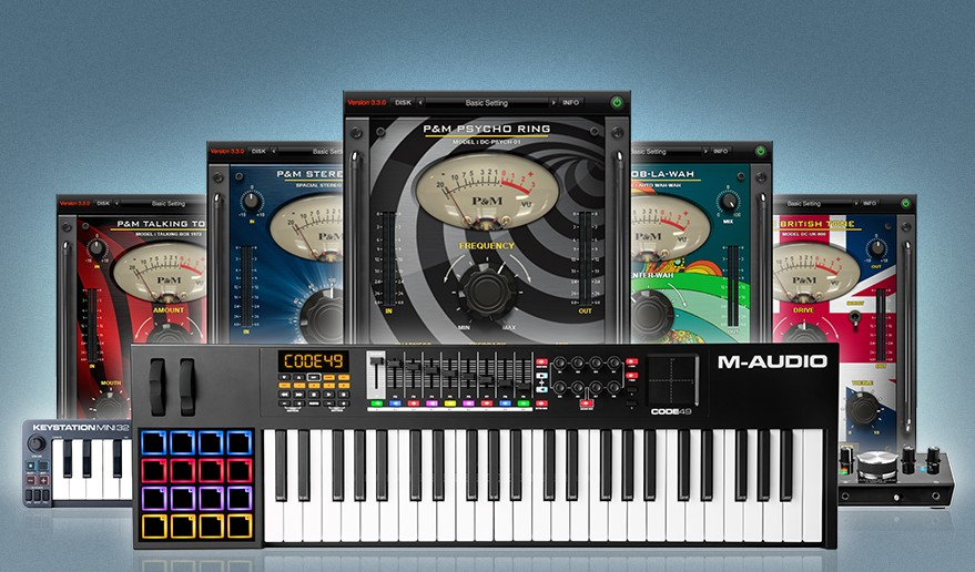 M-Audio Pick & Mix Promotion - Tailor your own sonic arsenal