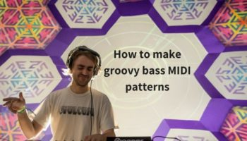 How to make groovy bass MIDI patterns for your tracks [VIDEO]