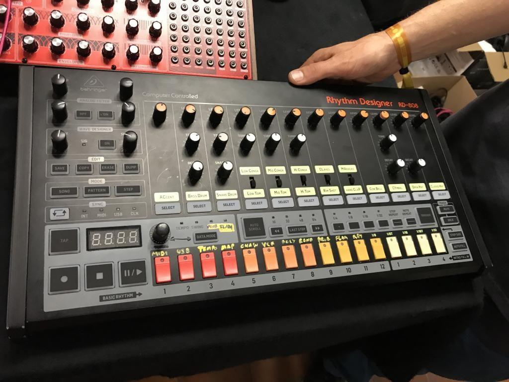 Behringer Rd 808 Roland Tr 808 Drum Machine Reincarnated