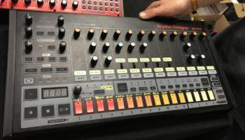Behringer RD-808 –  Roland TR-808 drum machine reincarnated