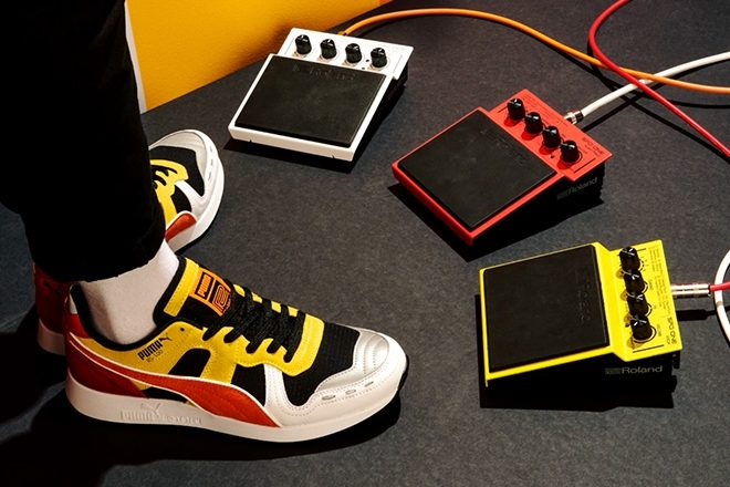 91d0f8ad1dec Roland x Puma kick-up a second TR-808-inspired sneaker